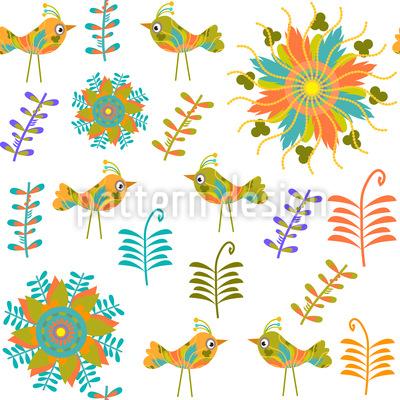 In The Bird Pardise Design Pattern