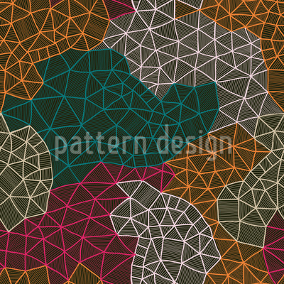 Mappers Network Seamless Vector Pattern