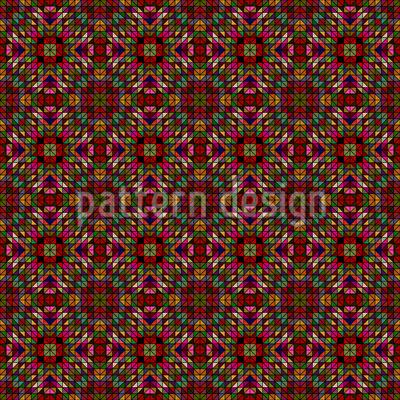 Die Fantasie Der Geometrie Vektor Muster