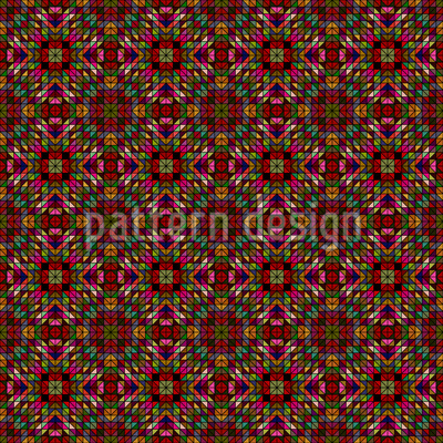 The Fantasy Of The Geometry Vector Pattern