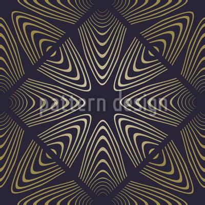 Florale Dimension Muster Design