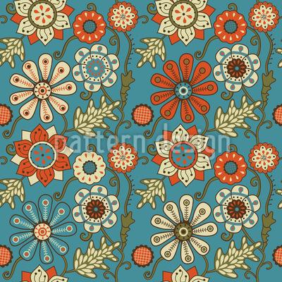 Die Garden Dreams Of Minsk Seamless Pattern