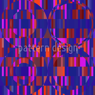 Kreis Inferno Muster Design