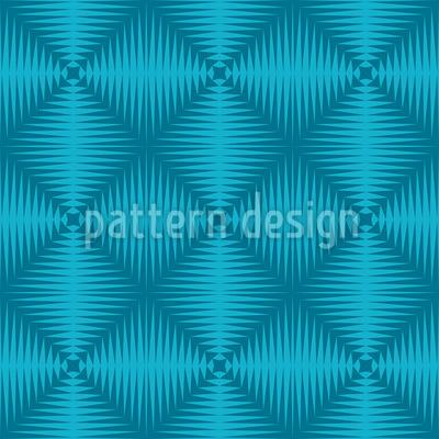 Zickzack Zum Quadrat Muster Design