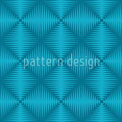 Zigzag To The Square Pattern Design