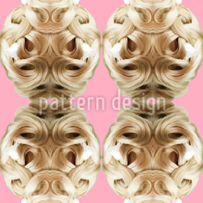 Der Barocke Haarsalon Vektor Muster