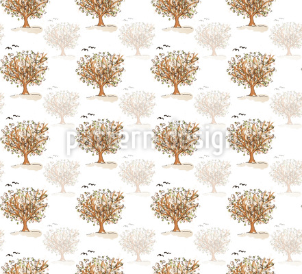 Was Die Bäume Den Vögel Zuflüstern Rapportmuster