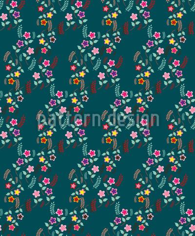 Mille Fleurs Romance Pattern Design