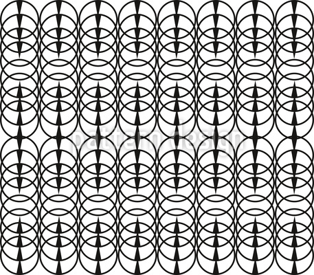 Gestapelte Pailletten Nahtloses Vektor Muster