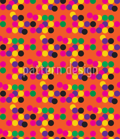 Confetti For Your Birthday Repeating Pattern