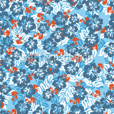 Hawaii Seamless Vector Pattern Design
