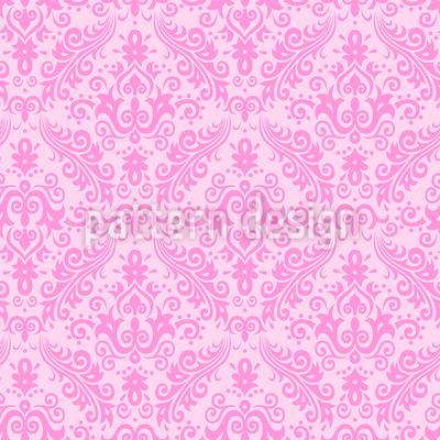 Barocke Romanze Muster Design