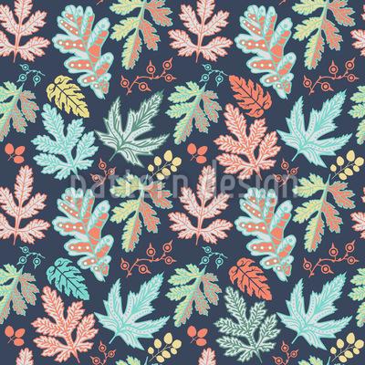 Leaf Baroque Pattern Design