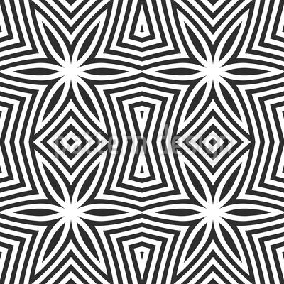 Zebra Sterne Nahtloses Vektormuster