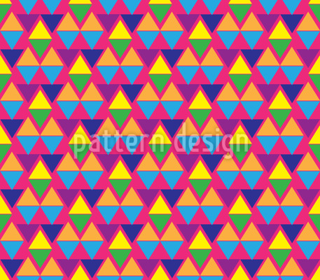 Aztec Rockets Repeating Pattern