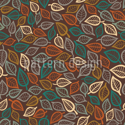 Ein Blätter Traum Vektor Ornament