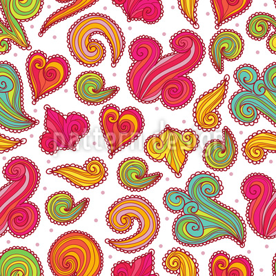 Sugar Candy Seamless Pattern