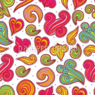 Zuckerstückchen Nahtloses Muster