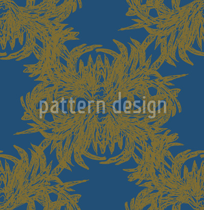 Algae Exquisite Vector Pattern