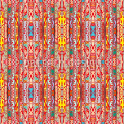Der Vorhang Im Pixel Theater Muster Design