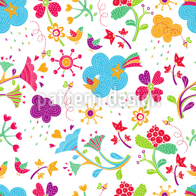 Patchwork Fantasies Pattern Design
