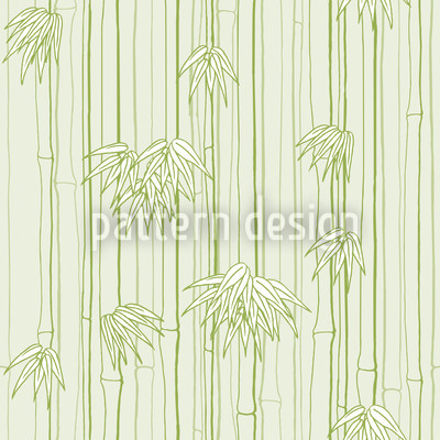 Bamboo Woods Seamless Vector Pattern Design