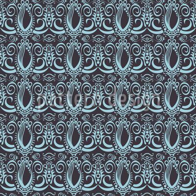 Ozean Renaissance Vektor Muster