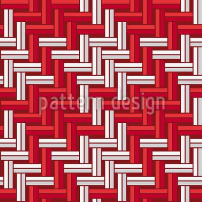 Gewebtes Pepita Rapportiertes Design