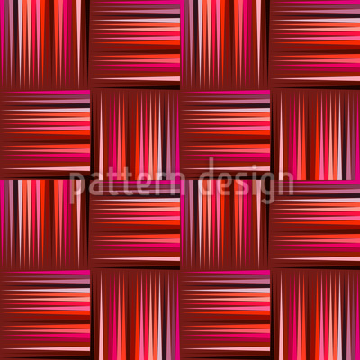 Dainty Wattlework Design de padrão vetorial sem costura