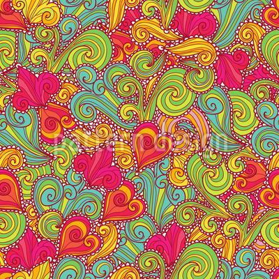 Die Russische Süsse Muster Design