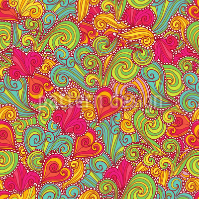 The Russian Sweetness Pattern Design