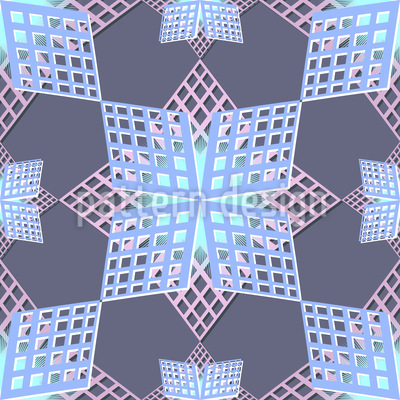 Grid Stars Vector Design