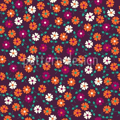 Flower Sonatina Seamless Pattern