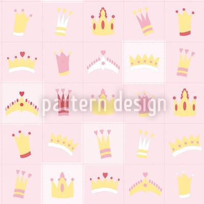 Königskrönchen Rapportiertes Design