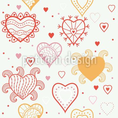 Heart Fantasy Vector Design