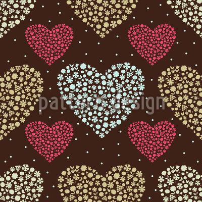 Heart Bouquets Vector Design