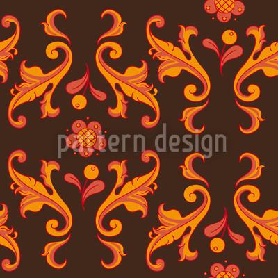 Barocko Folk Muster Design