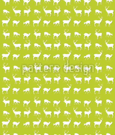 O My Deer Pattern Design