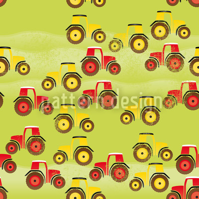 Harvest Time Seamless Vector Pattern Design