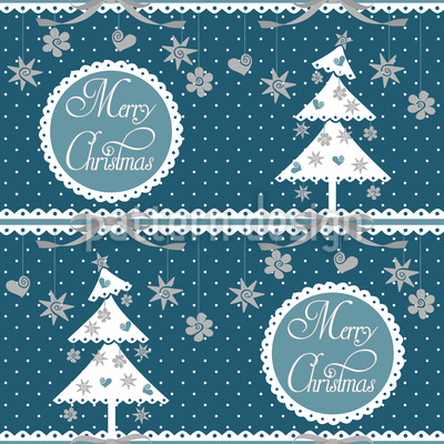Cold Christmas Design Pattern