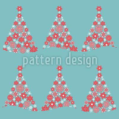 Weihnachtswald Musterdesign