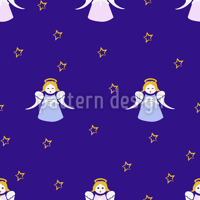 Christmas Angels Vector Design
