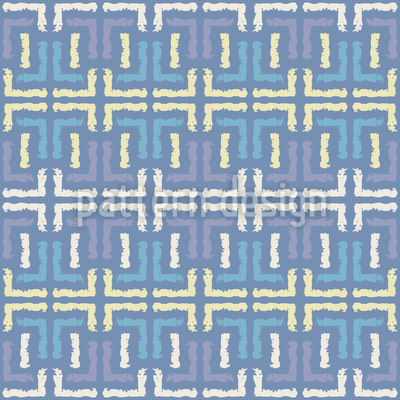 Streets Of Johannesburg Seamless Pattern