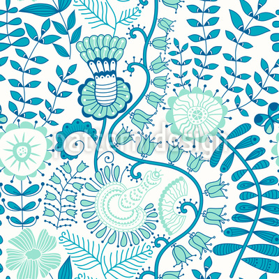 In Paradiso Pattern Design