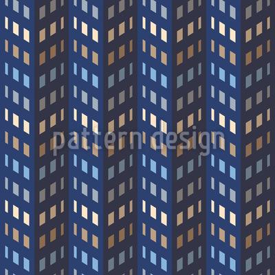 Wolkenkratzer Muster Design