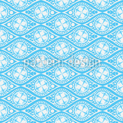 Calypsos Eyes Repeating Pattern