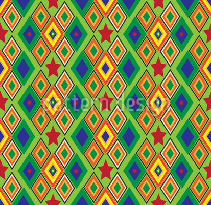 Rhomb Express Pattern Design