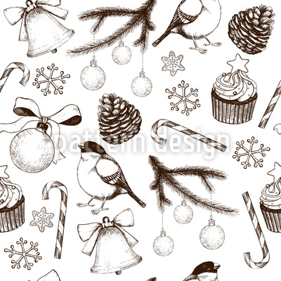 Winter Season Vector Ornament