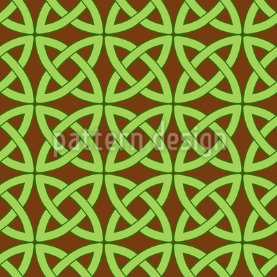 Celt Circles Seamless Vector Pattern Design