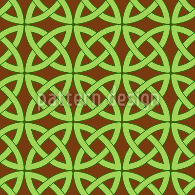 Kelten Kreise Muster Design